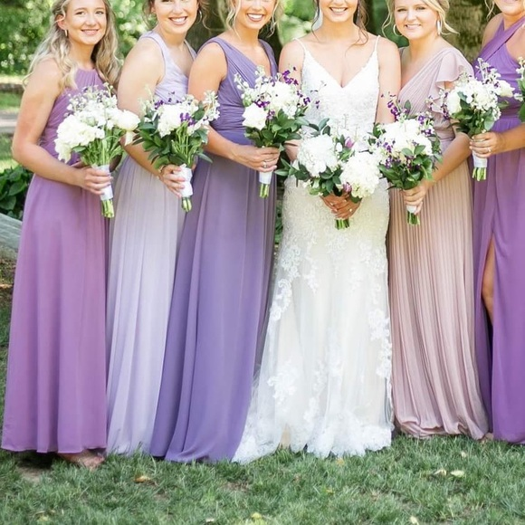 Purple Bridesmaid Dresses 51 Off Dktotal Dk